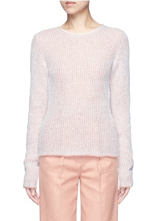 Main View - Click To Enlarge - Acne Studios - 'Valla' mohair blend layered sweater