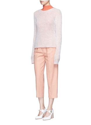 Figure View - Click To Enlarge - Acne Studios - 'Valla' mohair blend layered sweater