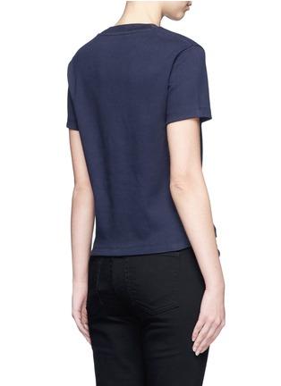 Back View - Click To Enlarge - Acne Studios - 'Edren' boxy cotton T-shirt