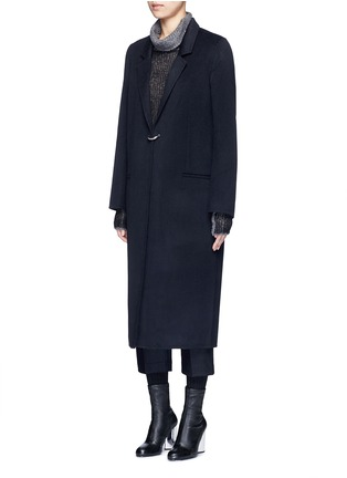 Front View - Click To Enlarge - Acne Studios - 'Foin' wool-cashmere coat