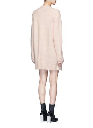Back View - Click To Enlarge - Acne Studios - Raya' mohair blend cardigan