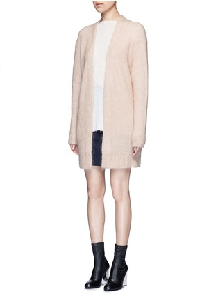 Front View - Click To Enlarge - Acne Studios - Raya' mohair blend cardigan