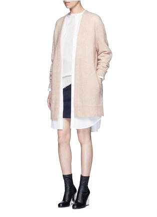 Figure View - Click To Enlarge - Acne Studios - Raya' mohair blend cardigan