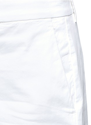 Detail View - Click To Enlarge - Theory - 'Wehnday' stretch chino shorts