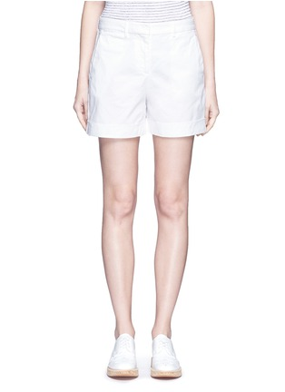 Main View - Click To Enlarge - Theory - 'Wehnday' stretch chino shorts