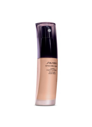 Main View - Click To Enlarge - Shiseido - Synchro Skin Lasting Liquid Foundation SPF20 - Neutral 3