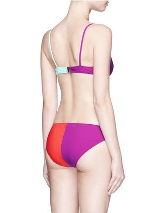 Back View - Click To Enlarge - Araks - 'Elsa' colourblock bikini set