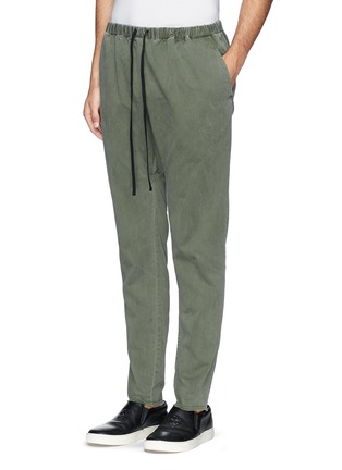 Front View - Click To Enlarge - 1.61 - 'Palau' well washed twill pants