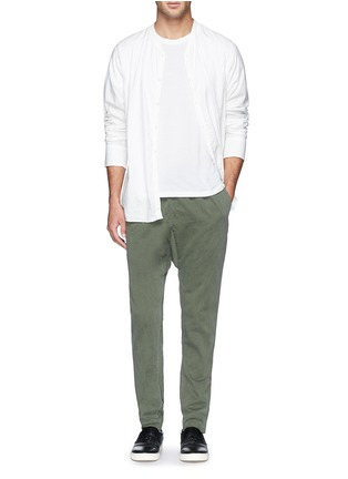 Figure View - Click To Enlarge - 1.61 - 'Palau' well washed twill pants