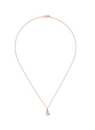 Main View - Click To Enlarge - Khai Khai - 'And &' diamond pendant necklace