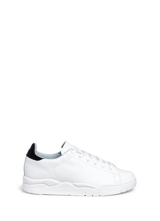 Main View - Click To Enlarge - Chiara Ferragni - 'Roger' logo collar leather sneakers