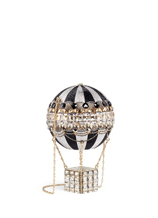 Figure View - Click To Enlarge - Judith Leiber - 'Hot Air Balloon' crystal pavé minaudière