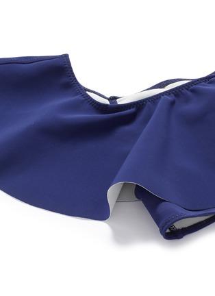 Detail View - Click To Enlarge - Lisa Marie Fernandez - 'Mira' flounce neoprene bandeau set