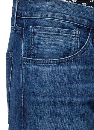 - 3X1 - 'M5' selvedge denim slim fit jeans