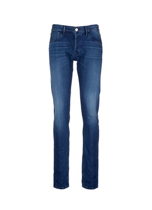 Main View - Click To Enlarge - 3x1 - 'M5' selvedge denim slim fit jeans