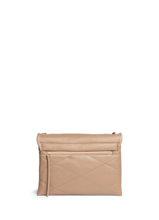 Back View - Click To Enlarge - Lanvin - 'Sugar' medium quilted leather flap bag