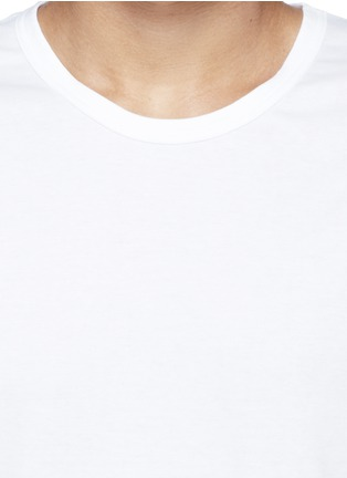 Detail View - Click To Enlarge - Zimmerli - 286 Sea Island' cotton undershirt