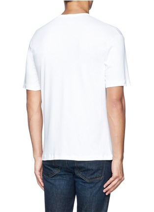 Back View - Click To Enlarge - Zimmerli - 286 Sea Island' cotton undershirt