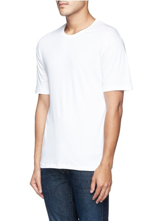 Front View - Click To Enlarge - Zimmerli - 286 Sea Island' cotton undershirt