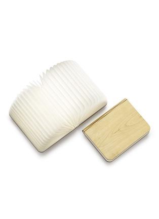 Detail View - Click To Enlarge - Lumio - Lumio folding book lamp - Blonde Maple