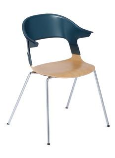 Republic of Fritz Hansen PAIR™ chair – Green/Oak