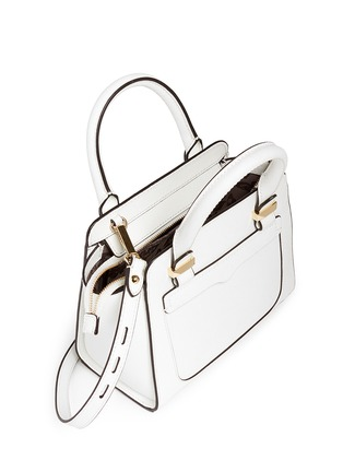 Detail View - Click To Enlarge - REBECCA MINKOFF - 'Avery' micro saffiano leather tote bag