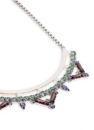 Detail View - Click To Enlarge - Joomi Lim - 'Pixel Perfect' cube crystal necklace