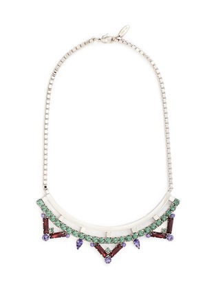 Main View - Click To Enlarge - Joomi Lim - 'Pixel Perfect' cube crystal necklace
