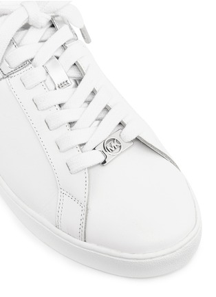 Detail View - Click To Enlarge - Michael Kors - 'Toby' colourblock leather sneakers