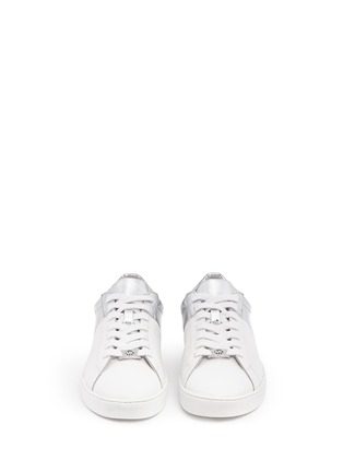 Front View - Click To Enlarge - Michael Kors - 'Toby' colourblock leather sneakers