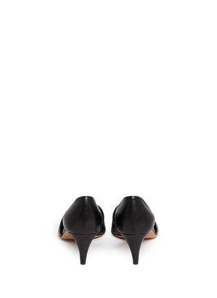 Back View - Click To Enlarge - Vince - 'Aurelian' leather d'Orsay pumps