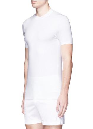 Figure View - Click To Enlarge - ZIMMERLI - '700 Pureness' jersey undershirt