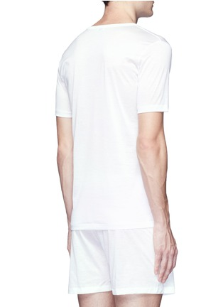 Back View - Click To Enlarge - ZIMMERLI - 252 Royal Classic' V-neck jersey undershirt