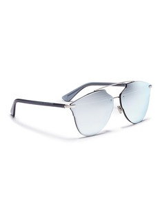 Dior 'Dior Reflected' prism effect mounted mirror lens sunglasses