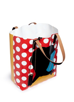 Detail View - Click To Enlarge - Marni - EKTA print shopping tote bag