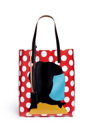 Main View - Click To Enlarge - Marni - EKTA print shopping tote bag