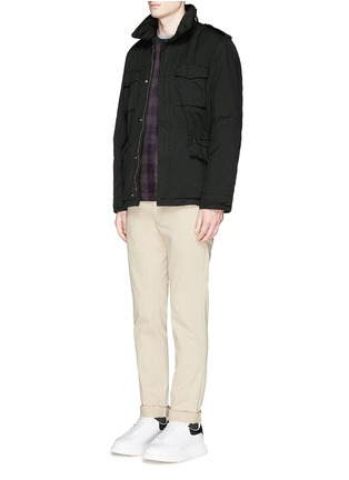 Figure View - Click To Enlarge - ASPESI - '65 Replica' Thermore Ecodown® field jacket