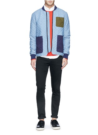 Front View - Click To Enlarge - Scotch & Soda - 'Skim' skinny jeans
