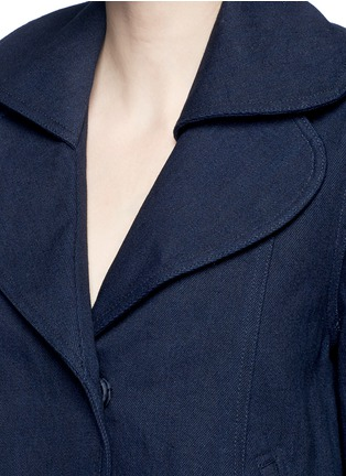 Detail View - Click To Enlarge - Co - Flare sleeve denim jacket