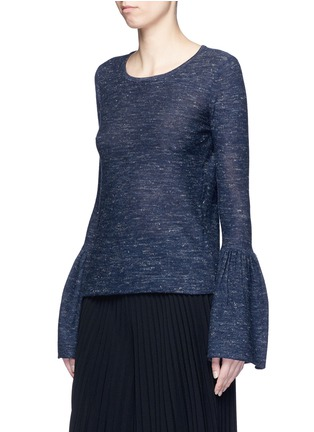 Front View - Click To Enlarge - Co - Bell cuff wool blend sweater