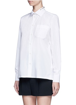 Front View - Click To Enlarge - Valentino - 'Rockstud Untitled 05' poplin shirt