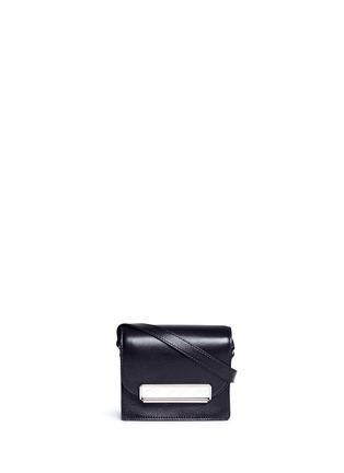 Main View - Click To Enlarge - Hillier Bartley - Mini leather crossbody satchel