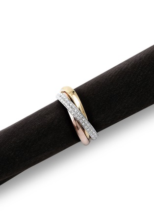 Main View - Click To Enlarge - L'Objet - Three Ring Napkin Ring Set