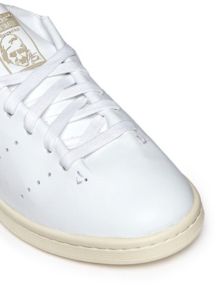 Detail View - Click To Enlarge - ADIDAS - Stan Smith' leather sock sneakers