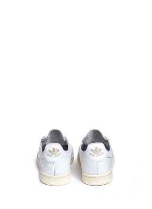 Back View - Click To Enlarge - ADIDAS - Stan Smith' leather sock sneakers
