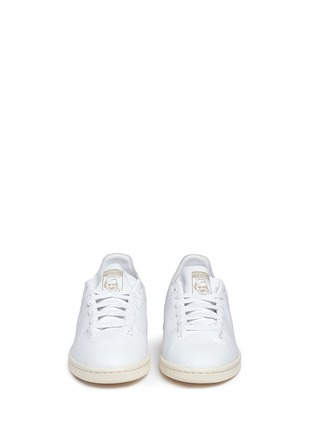 Front View - Click To Enlarge - ADIDAS - Stan Smith' leather sock sneakers