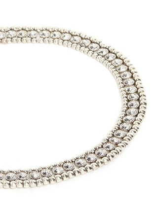 Detail View - Click To Enlarge - Philippe Audibert - 'Solange' beaded Swarovski crystal necklace
