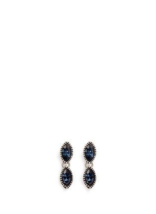 Main View - Click To Enlarge - Philippe Audibert - 'Becky' Swarovski crystal drop earrings