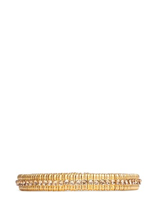 Main View - Click To Enlarge - Philippe Audibert - 'New Broome' Swarovski crystal elastic bracelet