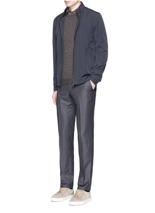 Figure View - Click To Enlarge - ISAIA - Mélange wool sweater